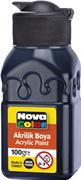 Nova Color Akrilik Boya Şişe 100 Gr Siyah Nc-2015