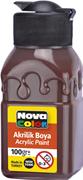 Nova Color Akrilik Boya Şişe 100 Gr Kahve Nc-2016