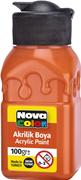 Nova Color Akrilik Boya Şişe 100 Gr Turuncu Nc-2017