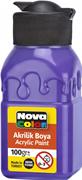 Nova Color Akrilik Boya Şişe 100 Gr Mor Nc-2018