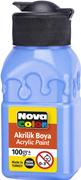 Nova Color Akrilik Boya Şişe 100 Gr Açık Mavi Nc-2020
