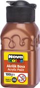 Nova Color Akrilik Boya Şişe 100 Gr Bakır Rengi Nc-2037