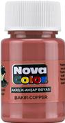 Nova Color Akrilik Boya Bakır Rengi Nc-236