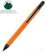 MONTEVERDE U.S.A Tool Pen 0.9 Versatil+Stylus+2 Tornavida+4 Cetvel - Turuncu