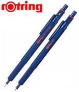 rOtring 600 Metal Mavi Tükenmez Kalem + 0.7mm Versatil Kalem