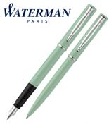 Waterman Allure Pastel Yeşil/Paladyum Dolma Kalem + Tükenmez Kalem