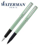 Waterman Allure Pastel Yeşil/Paladyum Dolma Kalem + Roller Kalem