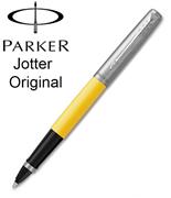 Parker Jotter Original ABS Plastik/Çelik Roller Kalem - Elektrik Sarı