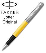 Parker Jotter Original ABS Plastik/Çelik Dolma Kalem - Elektrik Sarı