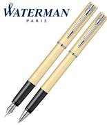 Waterman Allure Pastel Sarı/Paladyum Dolma Kalem + Roller Kalem