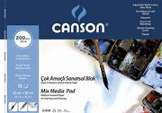 Canson Resim Blok 35x50 Finface 200 Gr 20yp 153550