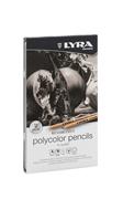 Lyra Rembrandt Polycolor Gri 12 Li Metal L2001122