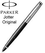 Parker Jotter Original ABS Plastik/Çelik Roller Kalem - Siyah