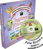 DAMLA / İNGİLİZCE HİKAYELER 5KİTAP+5VCD LEVEL 3