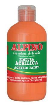 ALPINO AKRİLİK BOYA 250ML TURUNCU DV-022