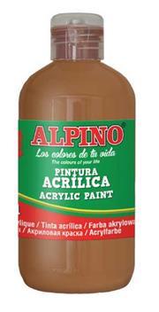 ALPINO AKRİLİK BOYA 250ML KAHVERENGİ DV-027