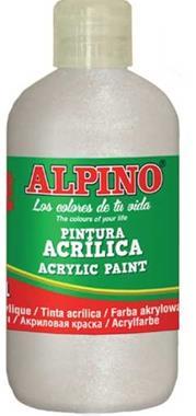 ALPINO AKRİLİK BOYA 250 ML METALİK SEDEF DV-0120