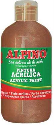 ALPINO AKRİLİK BOYA 250 ML METALİK BRONZE DV-0134