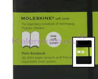 MOLESKINE Soft Cover Plain Notebook 9x14cm