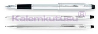 Cross Century Classic Chrome<br>Dolmakalem + Tükenmezkalem + Versatilkalem<br>