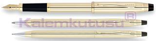 Cross Century Cl. 10 kt<br>Dolmakalem + Tükenmezkalem + Versatilkalem<br>