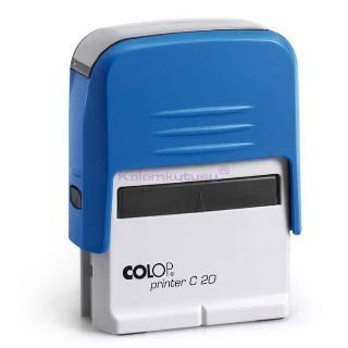 Colop Kaşe Compact C20 Mavi Gövde+keçe 15314063