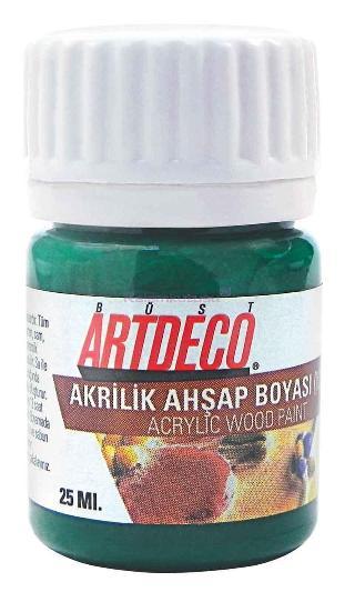Artdeco Akrilik Boya Ahşap 25ml Turk.yeş.020a6632