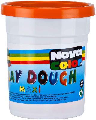 Nova Color Oyun Hamuru Maxi Tek Renk Turun.nc-4147