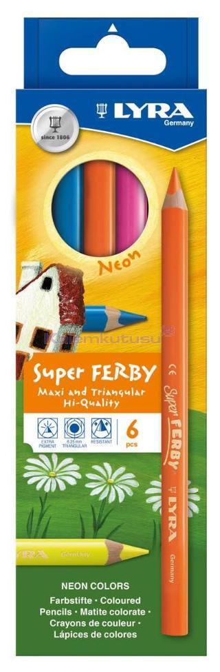 Lyra Kuruboya Super Ferby Lacq. Neon 6 Li L3721063