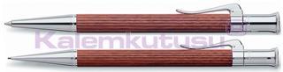 Graf von Faber-Castell Classic Bakkam Ağacı/Platin Tükenmezkalem + Versatilkalem Set