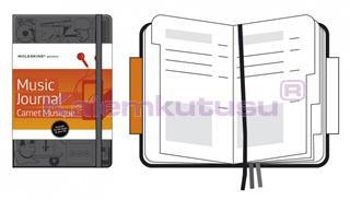 MOLESKINE Hard Cover Music Journal Notebook 13x21cm