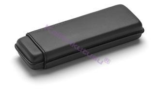 PORSCHE DESIGN 3190 İkili Deri Kalem Kılıfı - Siyah