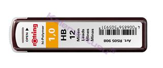 Rotring hi-Polymer Mekanik Kurşunkalem Ucu 0.9mm (HB)