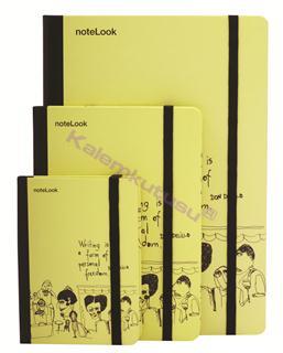 Scrikss noteLook Cabaret Çizgili Not Defteri - A6 (10.5x14.8cm)