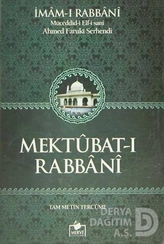 MERVE / MEKTUBARI RABBANİ 2 HM (2 CİLT)
