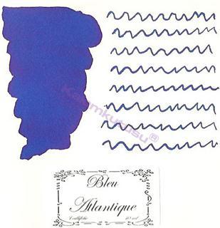 LArtisan Pastellier Callifolio Dolmakalem Mürekkebi / 40 ml Cam şişe - Atlantik Mavisi