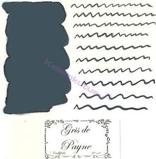 LArtisan Pastellier Callifolio Dolmakalem Mürekkebi / 40ml Cam şişe - Payne Grisi