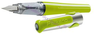 PELİKAN New Pelikano Yeşil Dolma kalem - 2 Farklı Uç Seçeneği