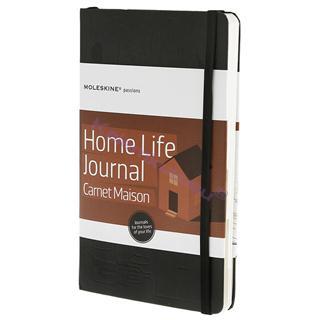MOLESKINE Hard Cover Notebook - Home Life Journal 13x21cm