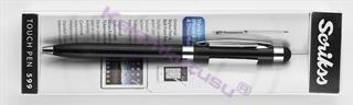 Scrikss 599 Stylus Ipad / Iphone Tükenmez Kalem - Siyah<br><img src=resim/isyaz.gif border=0/>
