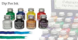 MANUSCRIPT Leonardt Divit kalem ucu Mürekkebi - 9 Farklı Renk Seçeneği