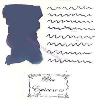 LArtisan Pastellier Callifolio Dolmakalem Mürekkebi / 40 ml Cam şişe - İlkbahar Gündönümü Mavisi