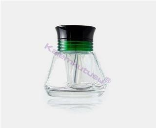 TWSBI Diamond 580/540 Dolmakalem için Özel Yeşil Aparatlı Kristal Mürekkep Şişesi 50ml