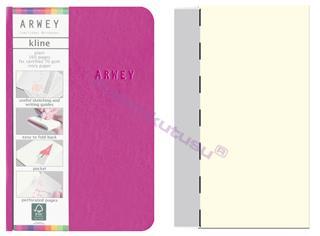 Arwey Kline ExtraSmall Notebook Esnek Kapak Çizgisiz 8x12cm Fuşya