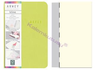 Arwey Kline ExtraSmall Notebook Esnek Kapak Çizgisiz 8x12cm Yeşil