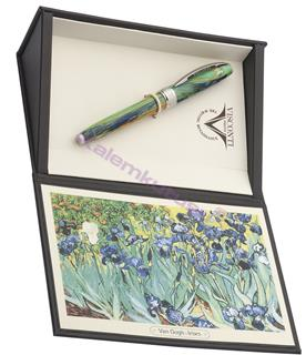 VISCONTI Van Gogh-Irises Vegetal Resin Dolma Kalem<br>