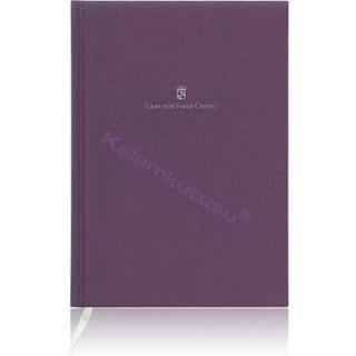 Graf von Faber-Castell Heritage Notebook A5 - Menekşe Mor