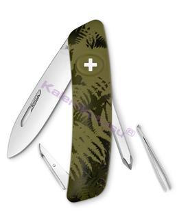 Swiza C02 Silva Khaki Camouflage Yeni Nesil İsviçre Cep Çakısı 4 Fonksiyonlu