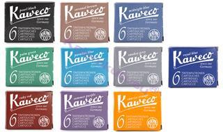 Kaweco 6lı Dolmakalem kartuşu - 10 Farklı Renk Seçeneği