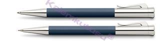 Graf von Faber-Castell Tamitio Mat Lake Gece Mavisi Tükenmez Kalem + M.Kurşun Kalem<br>